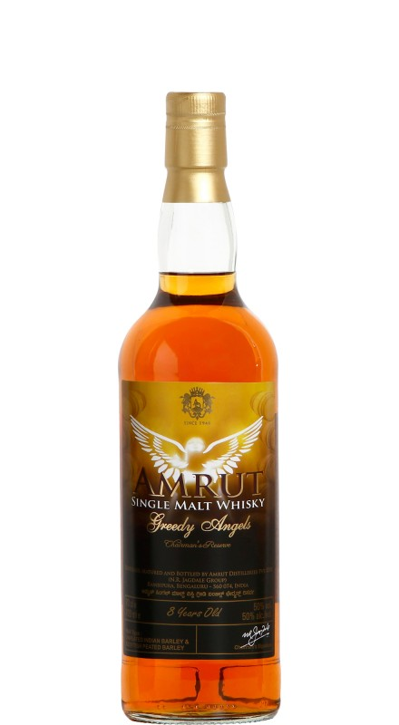 Amrut Greedy Angels 8 Y.O. Single Malt Whisky