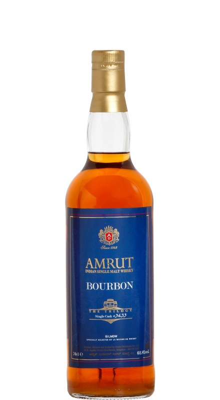 Amrut Bourbon The Trilogy 2nd Release Single Malt Whisky