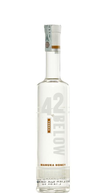 Below 42 Honey Vodka