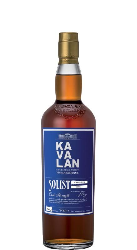Kavalan Solist Vinho Barrique Single Malt Whisky