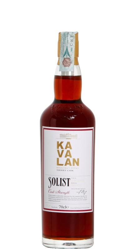 Kavalan Solist Sherry Single Malt Whisky