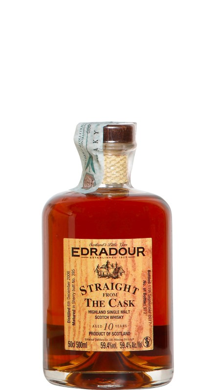 Edradour SFTC 2006 Single Malt Whisky