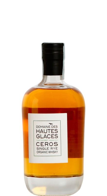 Domaine Hautes Glaces Ceros Single Rye Whisky
