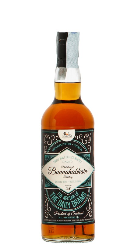 The Nectar Bunnahabhain 1998 Single Malt Whisky