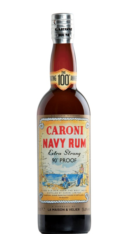 Caroni Navy Rum 90° Proof