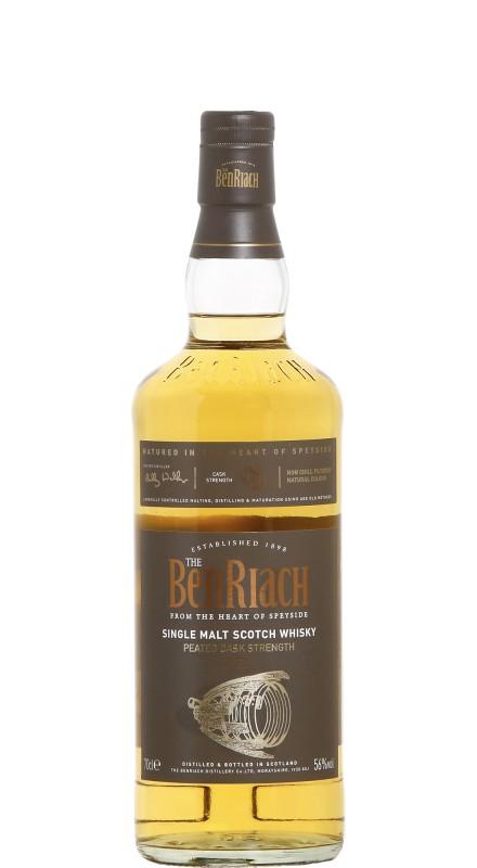 Benriach Peated Cask Strength Batch 1 Single Malt Scotch Whisky