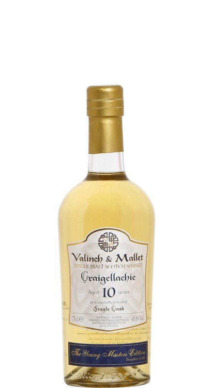 Craigellachie 10 Y.O. Bourbon Cask Single Malt Scotch Whisky