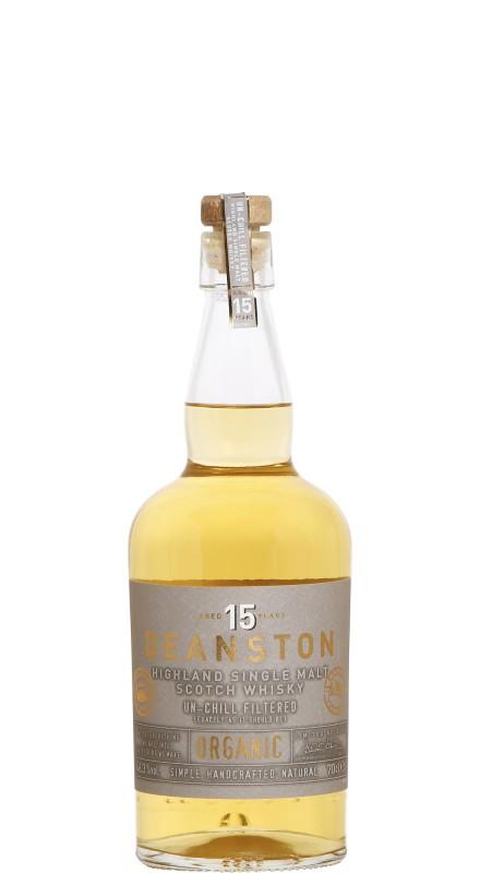 Deanston 15 Y.O. Organic Single Malt Scotch Whisky