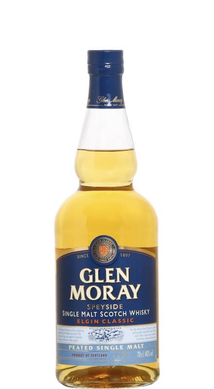 Glen Moray Elgin Classic Peated Single Malt Scotch Whisky