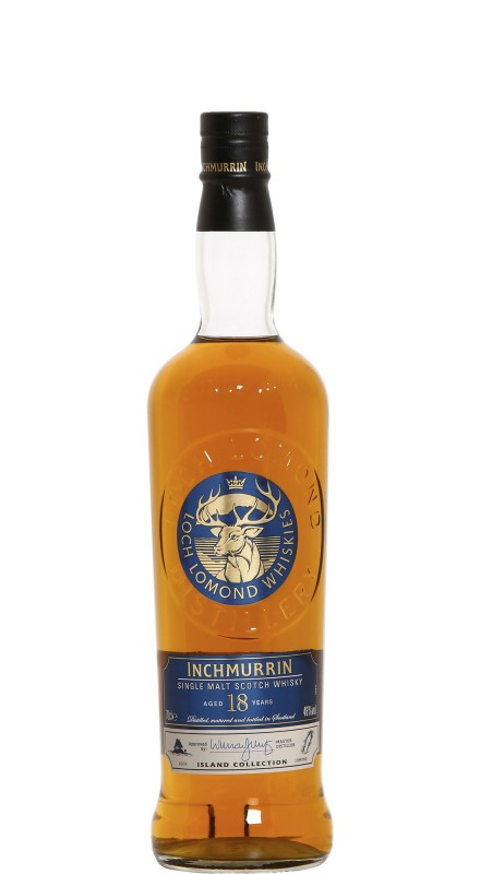 Inchmurrin 18 Y.O. Single Malt Scotch Whisky