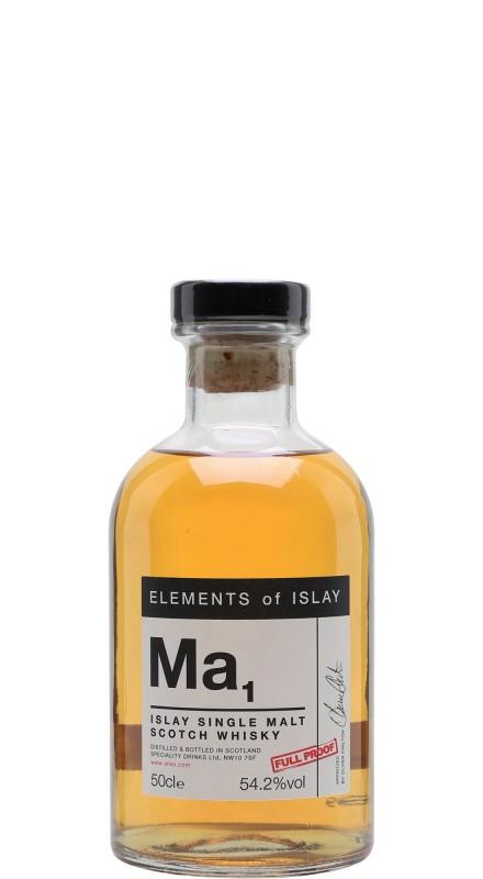 Elements Of Islay MA1 Margadale Single Malt Whisky
