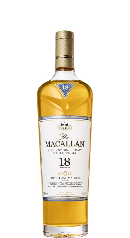 Macallan 18 Y.O. Triple Cask Matured Single Malt Whisky