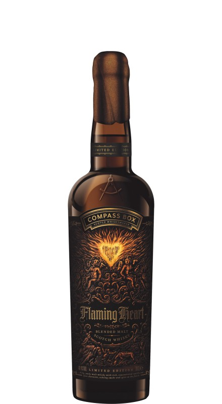 Compass Box Flaming Heart 6th Edition Blended Malt Whisky