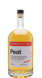 Elements of Islay Peat Pure Islay Single Malt Whisky 450cl