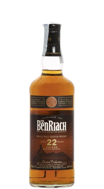 Benriach 22 Y.O. Albariza Peated Sherry Finish Single Malt Whisky