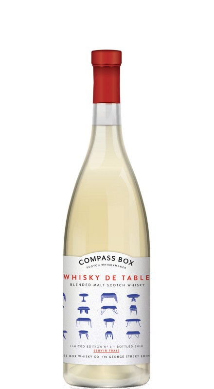 Compass Box Whisky de Table Blended Malt Whisky
