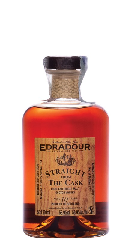 Edradour SFTC Sherry 2008 Single Malt Whisky