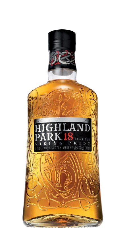 Highland Park 18 Y.O. Single Malt Whisky