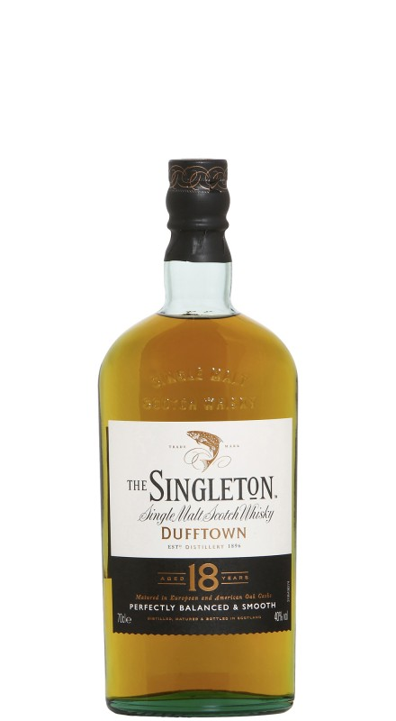 Singleton Of Dufftown 18 Y.O. New Bottling