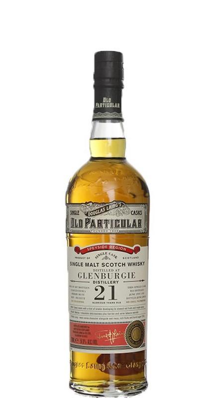 Glenburgie 21 Y.O. 1997 Douglas Laing Old Particular Single Malt Whisky