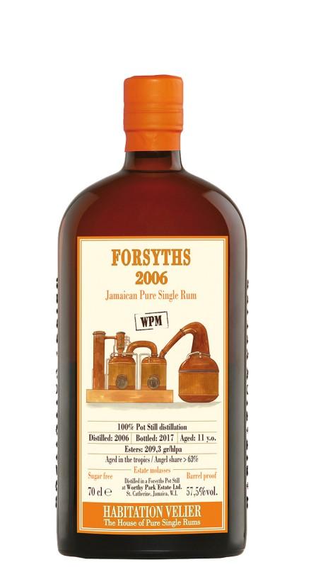 Habitation Velier Forsyths WPM 2006 Jamaican Rum
