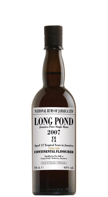 Long Pond TECA 12 Y.O. 2007 Continental Flavoured