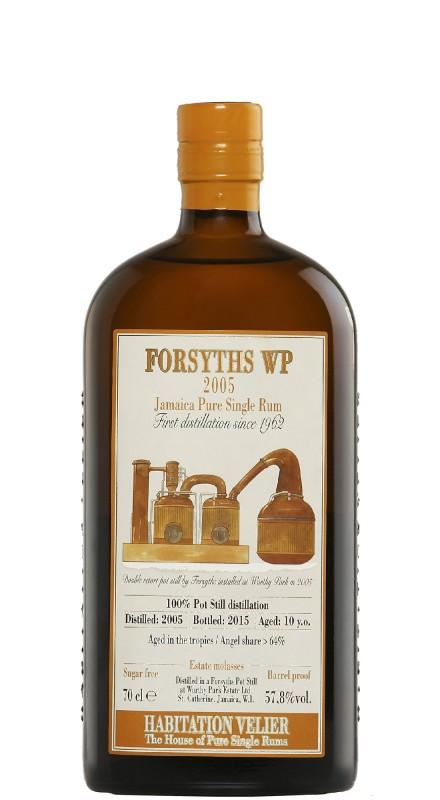 Habitation Velier Forsyths Wp 2005 Rum