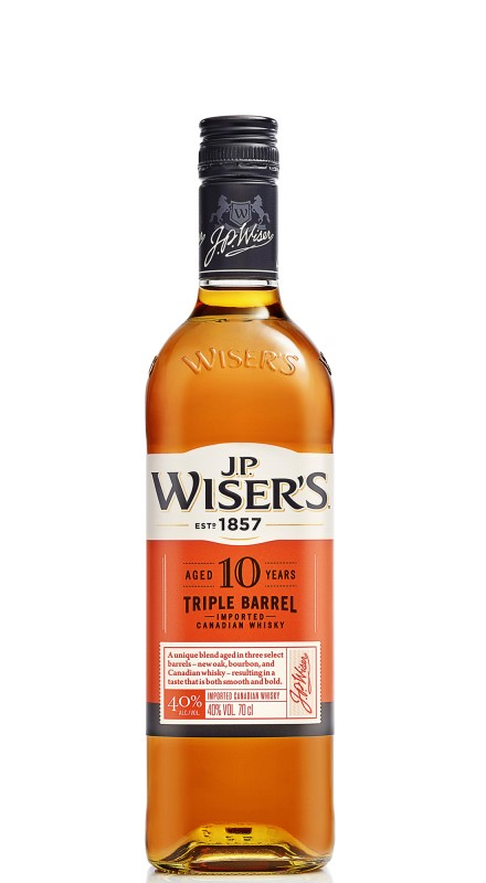 J.P. Wiser's 10 Years Old