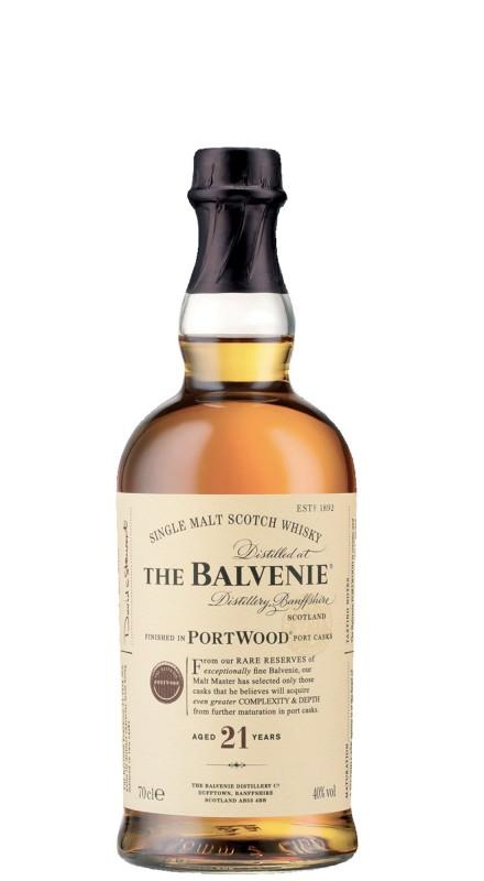 Balvenie 21 Y.O. Portwood Single Malt Whisky
