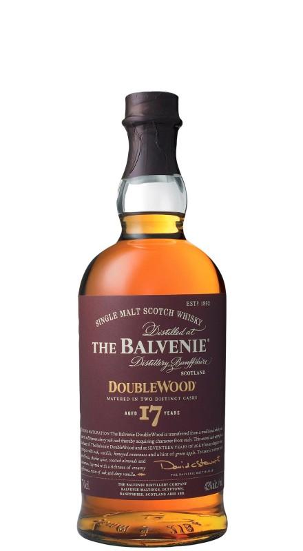 Balvenie 17 Y.O. Doublewood Single Malt Whisky