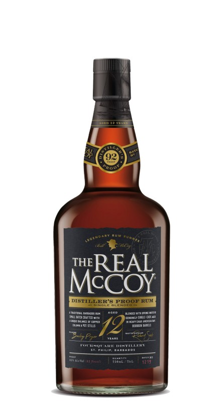 The Real Mccoy 12 Y.O. Distiller's Proof