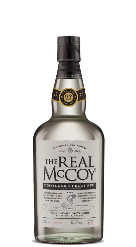 The Real Mccoy 3 Y.O. Distiller's Proof