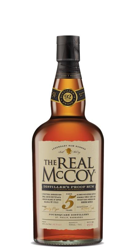 The Real Mccoy 5 Y.O. Distiller's Proof