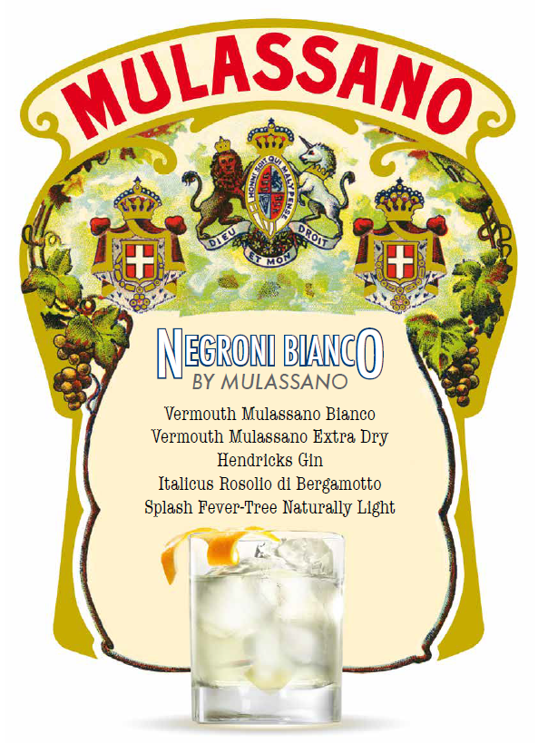 Mulassano Negroni Bianco 2