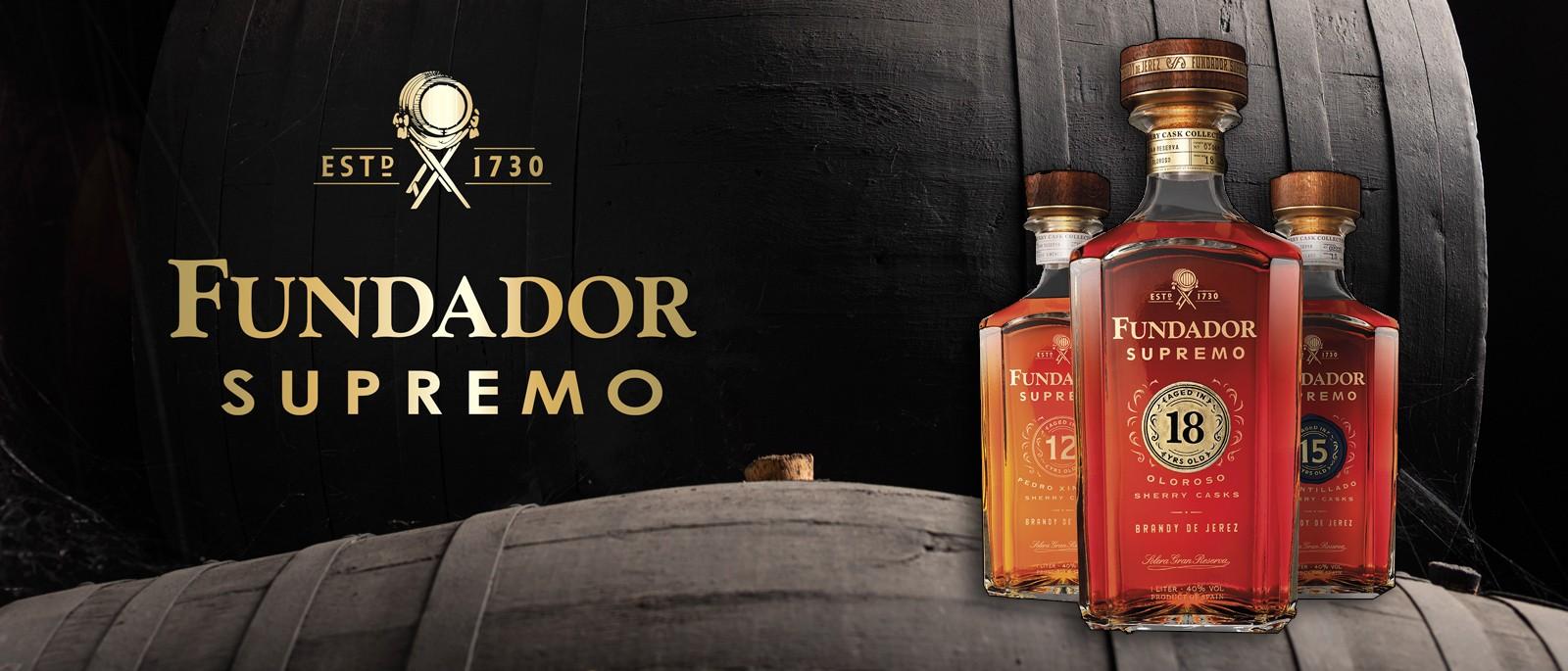 Fundador Brandy Distilleria Landing Page